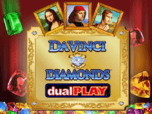 Онлайн аппарат Da Vinci Diamonds: Dual Play